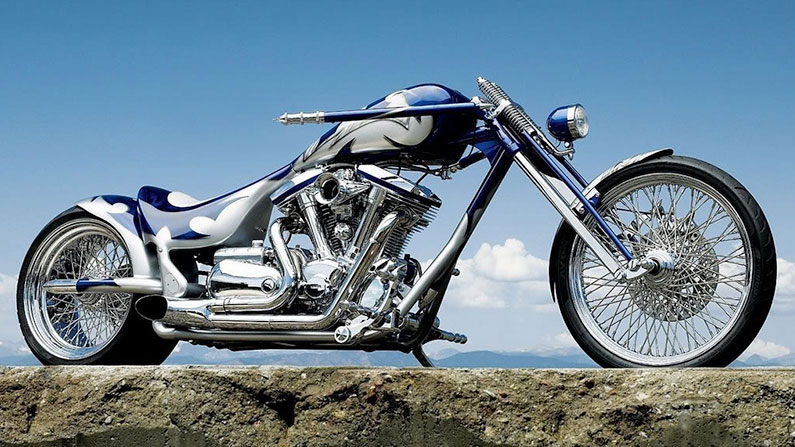 Yamaha Dragstar Chopper